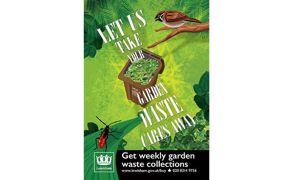 Oskar Design – garden waste campaign