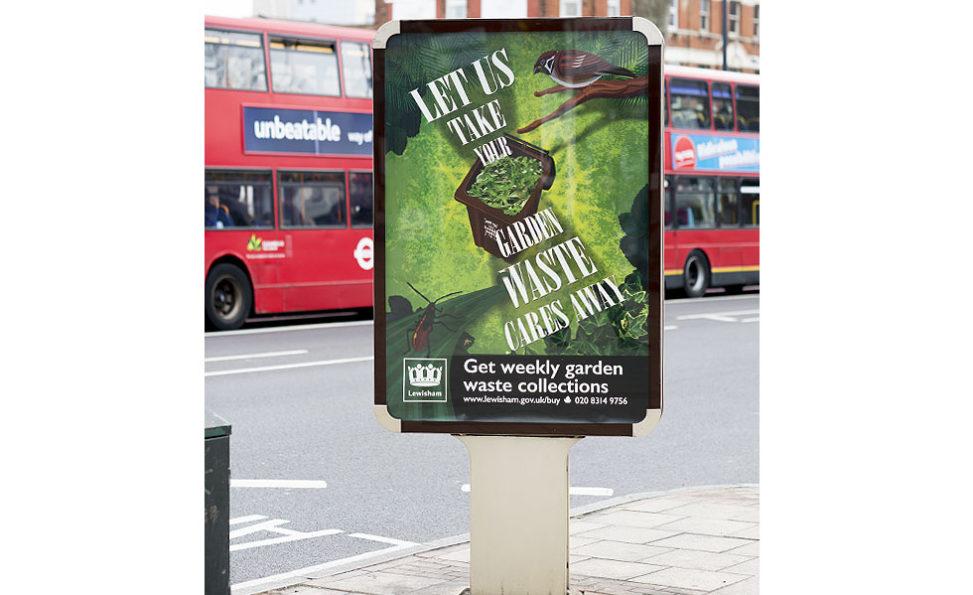 Oskar Design – Lewisham garden waste campaign