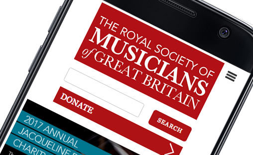 Oskar Design – Royal Society of Musicians website